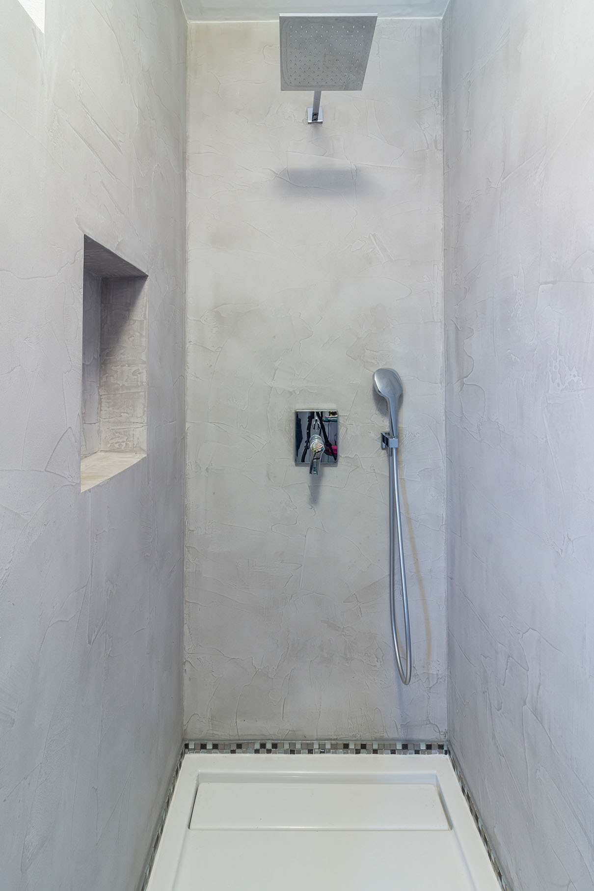 Dusche Beton