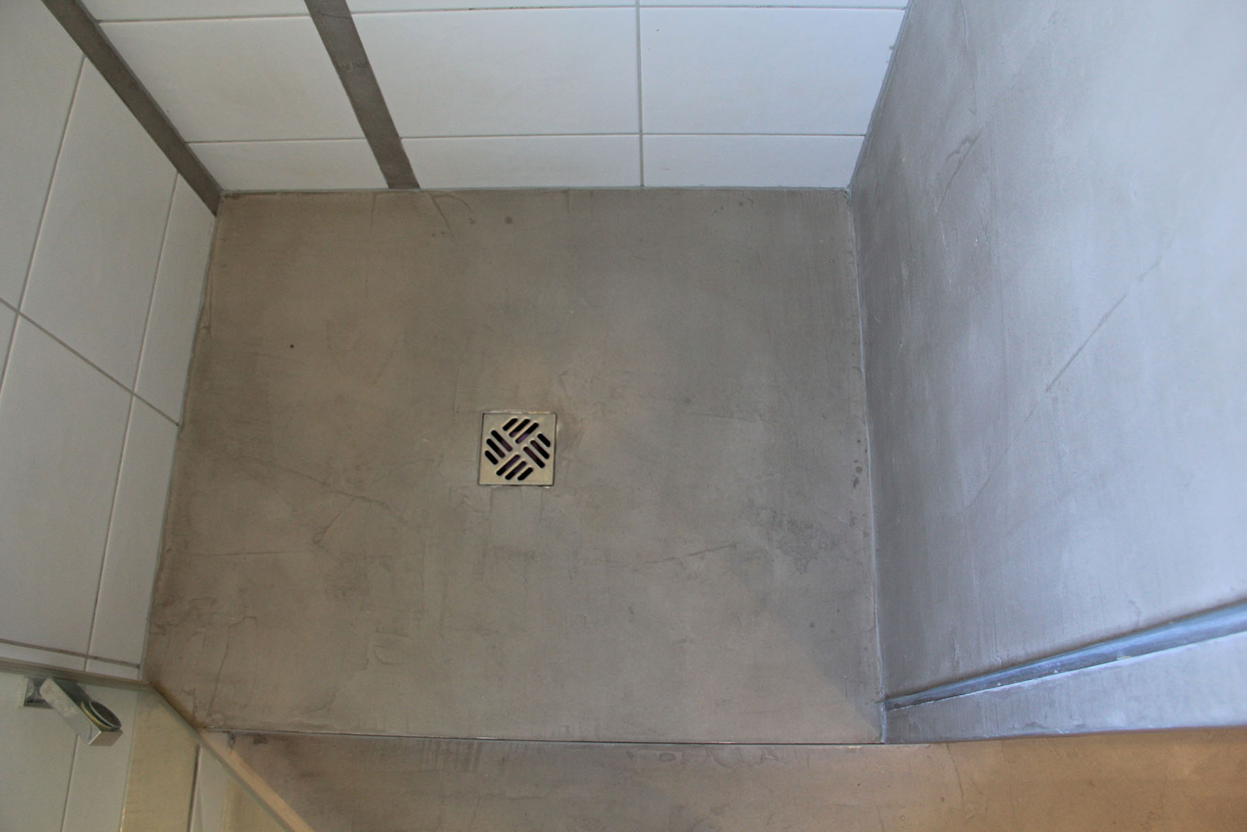Dusche Beton Boden