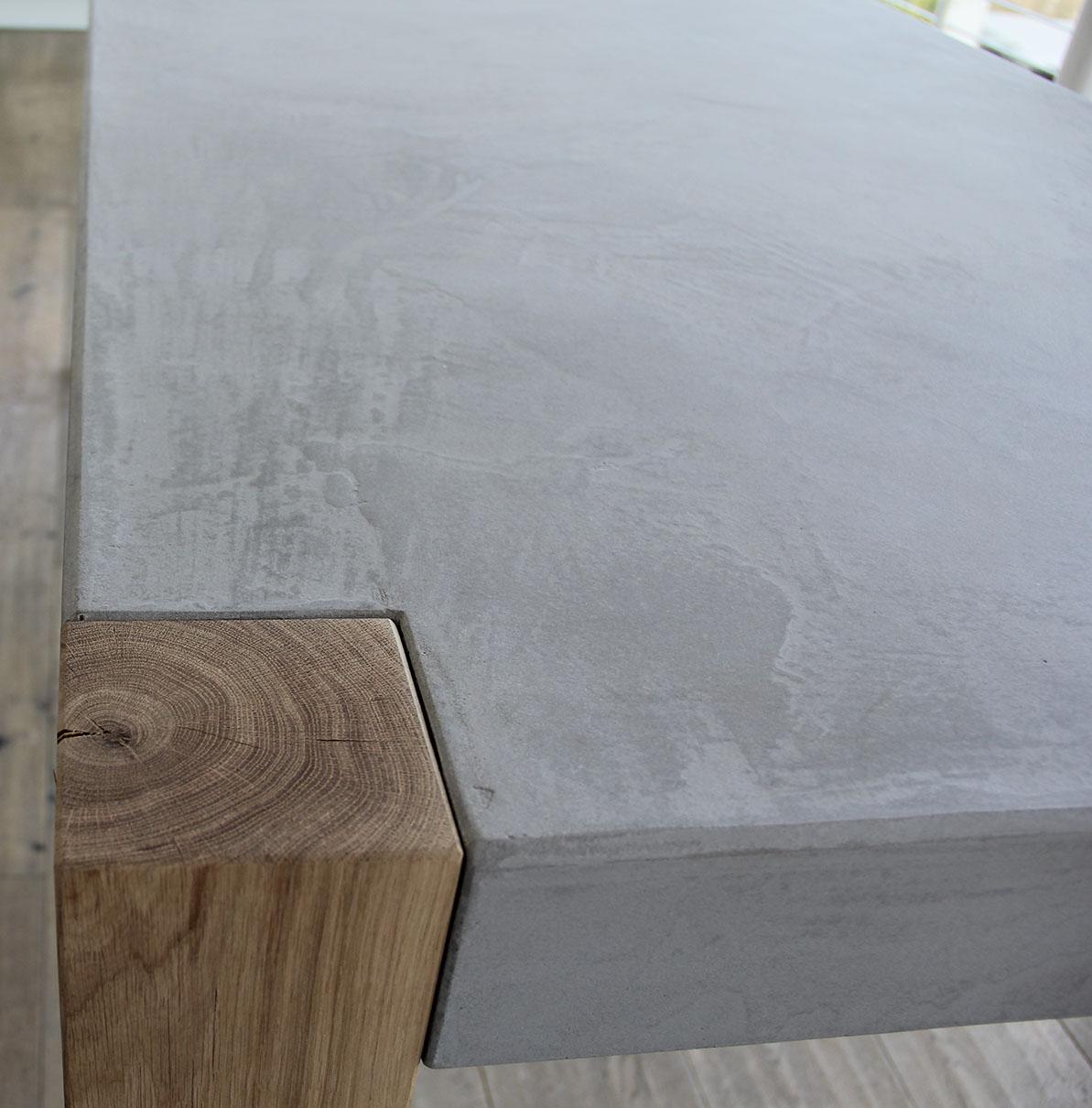 Tisch Beton und Holz