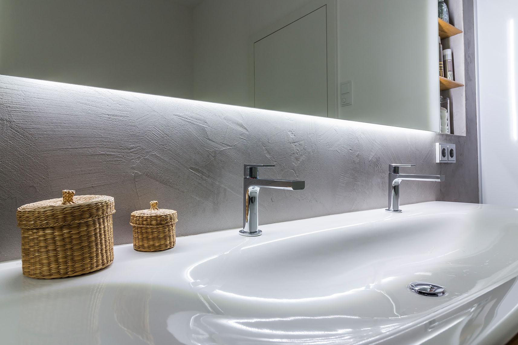 Badezimmertisch Beton